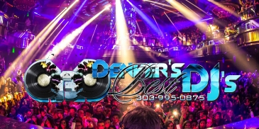 Denver's Best DJs Logo Banner Long And Medium Version