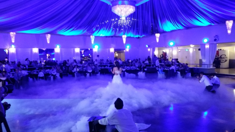 Dancing On Clouds Denver's Best DJs Amazing Fog Mist Machine Effect For First Dance At Vietnamese and Chinese Wedding