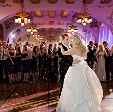 The First Dance Is Magical with The right DJ and Right lighting