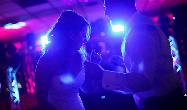 Bride and Groom on the Dancefloor dancing to Denver's Best DJs
