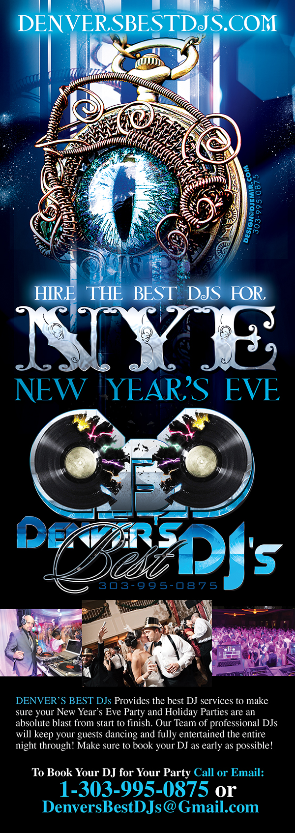 NYE DJs Denver's Best DJs For New Year's Eve and All Your Holiday Parties