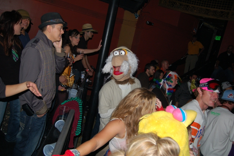 Denver Halloween Party With Muppets And Denver's Best DJs