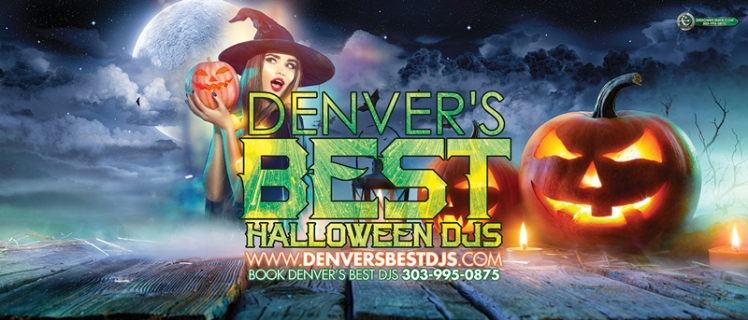 Denver Colorado's Best Halloween DJs Banner
